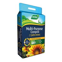 Multi Purpose Compost With John Innes Pouch (Enriched With Bio3) 10L