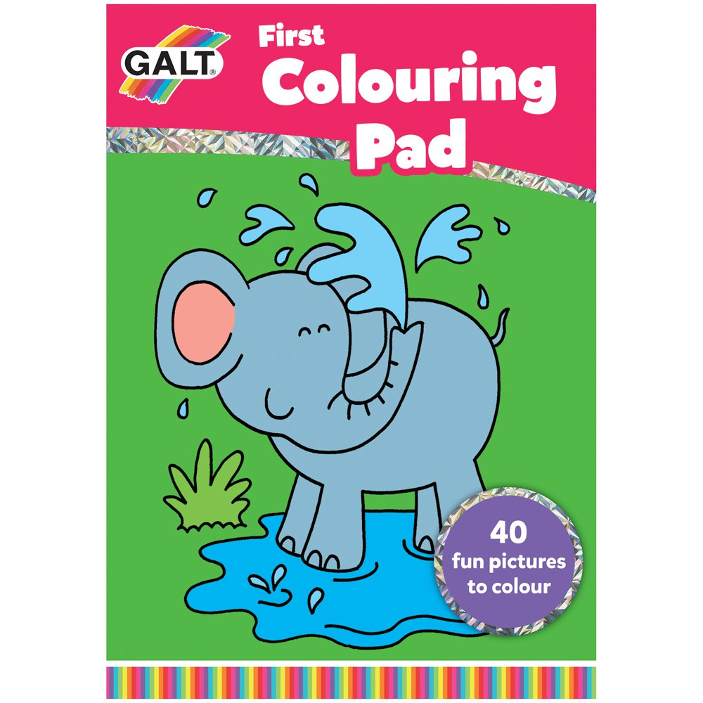 FIRST COLOURING PAD