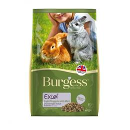 Burgess Excel Light Rabbit Nuggets with Mint 4kg