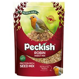 Pk Robin Seed & Insect Mix 1Kg