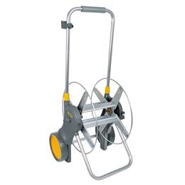 90m Assembled Metal Hose Cart