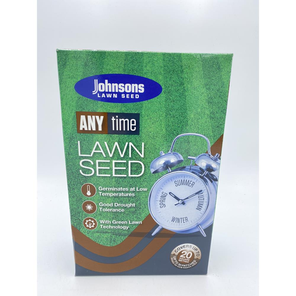 Johnsons any time lawn seed 20 m