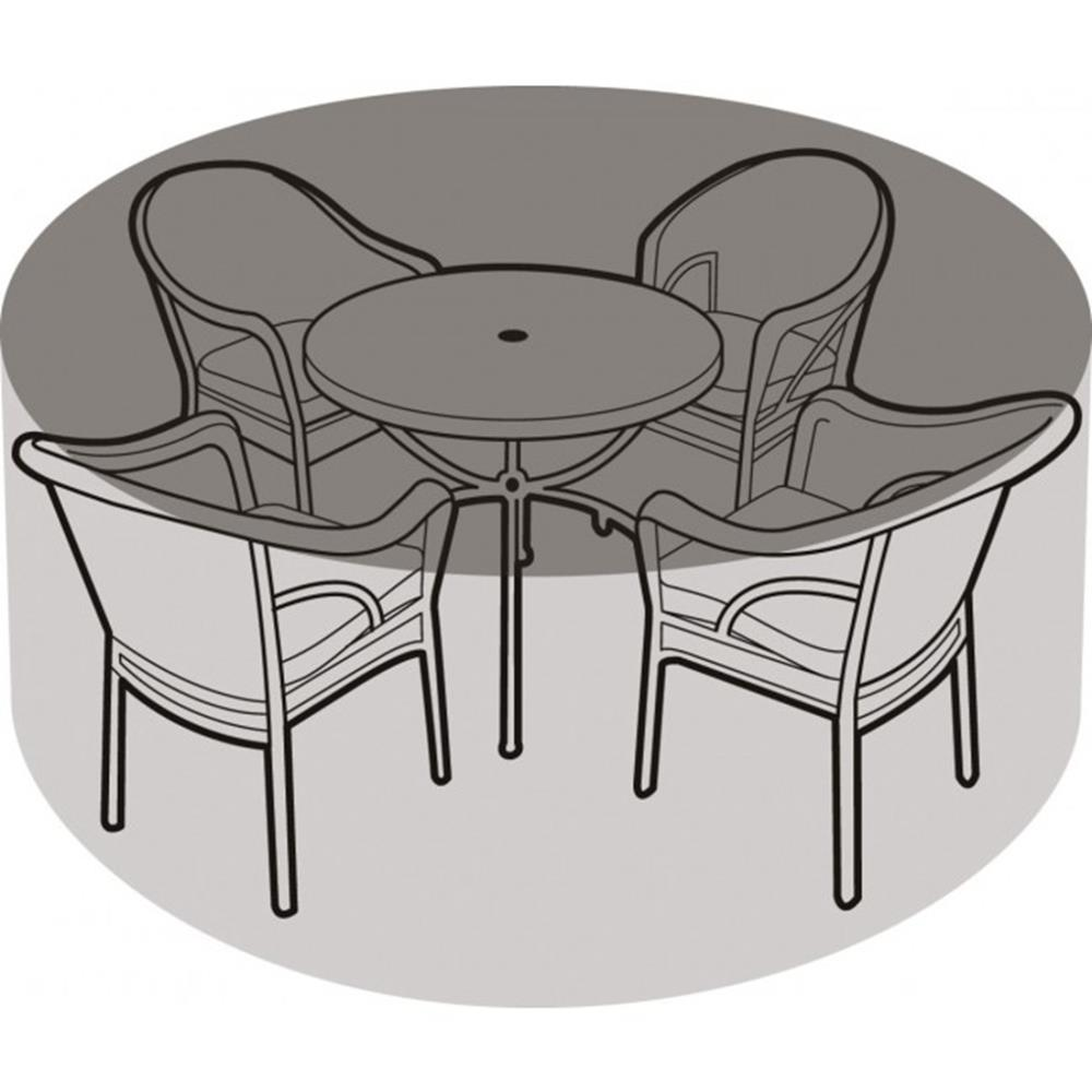4-6 Seater Round Furniture Set Cover