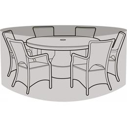 6-8 Seater Round Furniture Set Cover