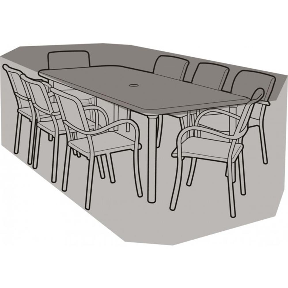 8 Seater Rectangular Furniture Set Cover