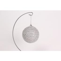 Sliver and Sparkly Christmas bauble