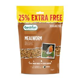Mealworm 1.2Kg 25% Extra Free