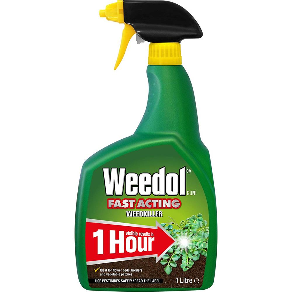 WEEDOL GUN FAST ACTING WEEDKILLER 1L READY TO USE