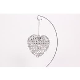 Sliver and sparkly heart Decoration