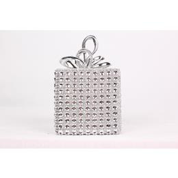 Sliver and Sparkly Christmas tree Decoration Box