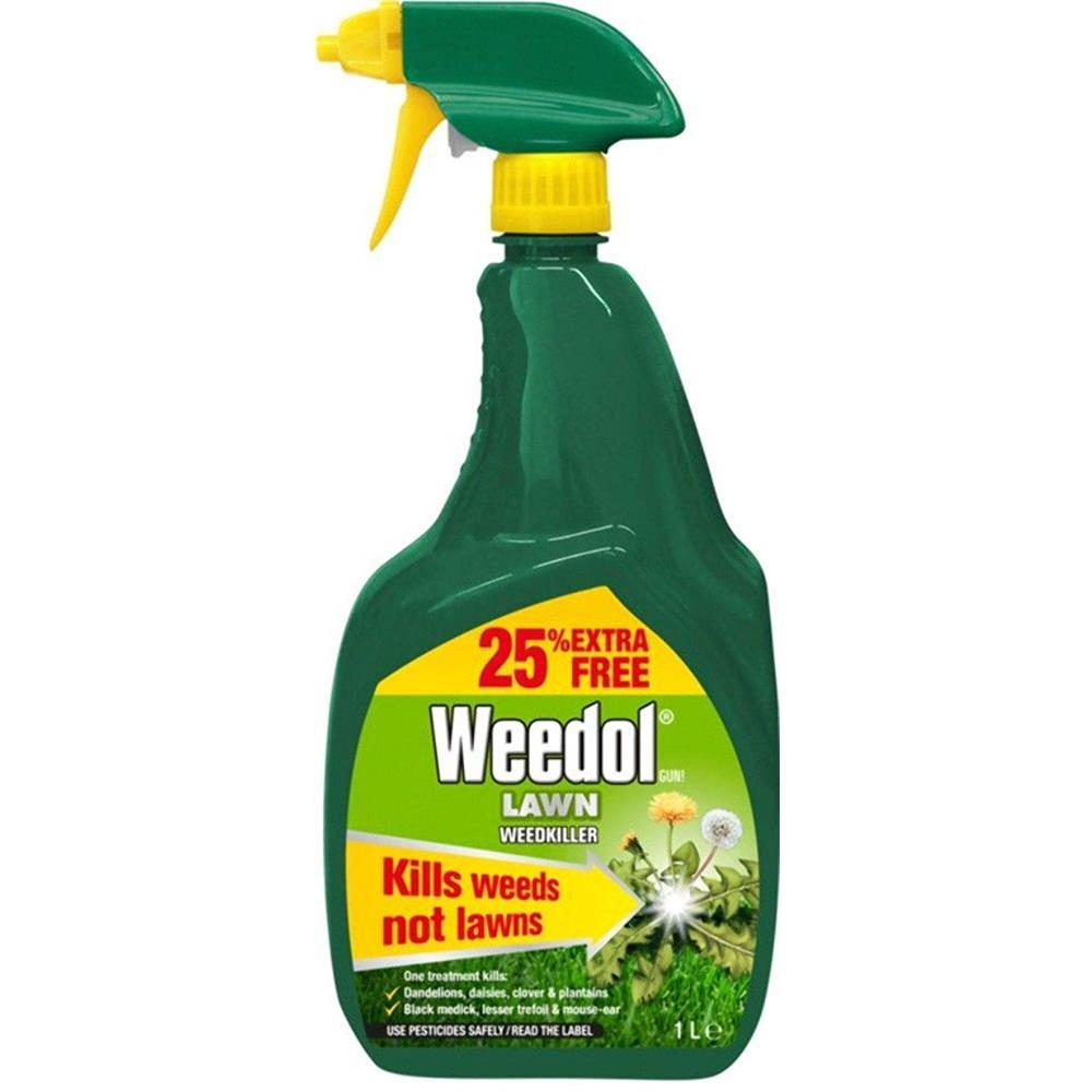 WEEDOL GUN LAWN WEEDKILLER 800ML+25%