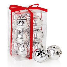 Sliver Jingle bells 12x4cm