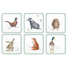 WRENDALE COASTER SET OF 6