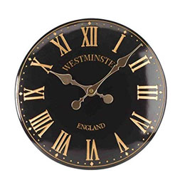 "Westminster Tower Wall Clock 15"" 38Cm"