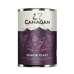 CANAGAN SENIOR FEAST DOGS 400G