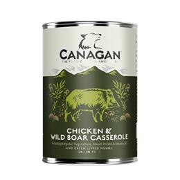 CANAGAN CHICKEN WILD BOAR CASSEROLE DOGS 400G