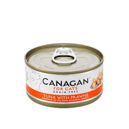 CANAGAN CAT TUNA WITH PRAWNS 75G