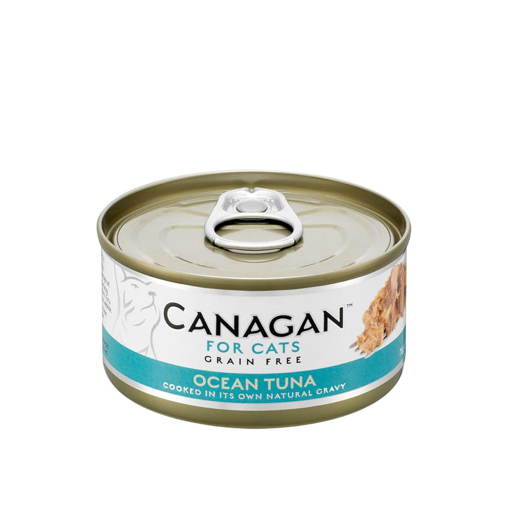 CANAGAN CAT CAN OCEAN TUNA 75G