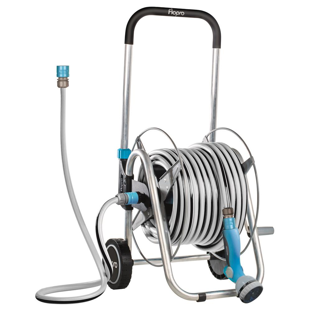 Flopro Professional Hose & Cart System 30m
