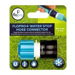 Flopro + Water Stop Hose Connector
