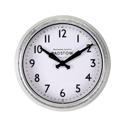 "Padstow Wall Clock 15"" 38Cm"