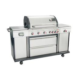 TRITON 6.1 PTS+ GS BARBECUE STAINLESS STEEL