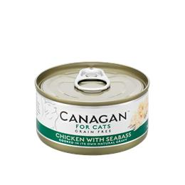 CANAGAN CAT CHICKEN WITH SEABASS 75G