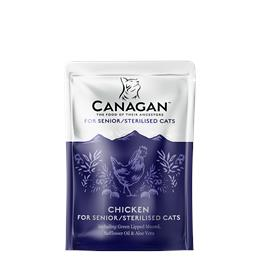 CANAGAN CHICKEN FOR STERILLISED/SENIORE CATS Pouches  85G