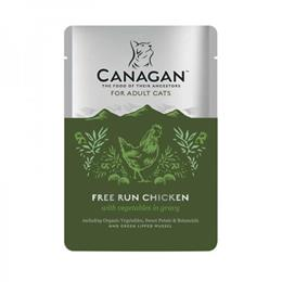 CANANGAN CAT FREE RUN CHICKEN 85G