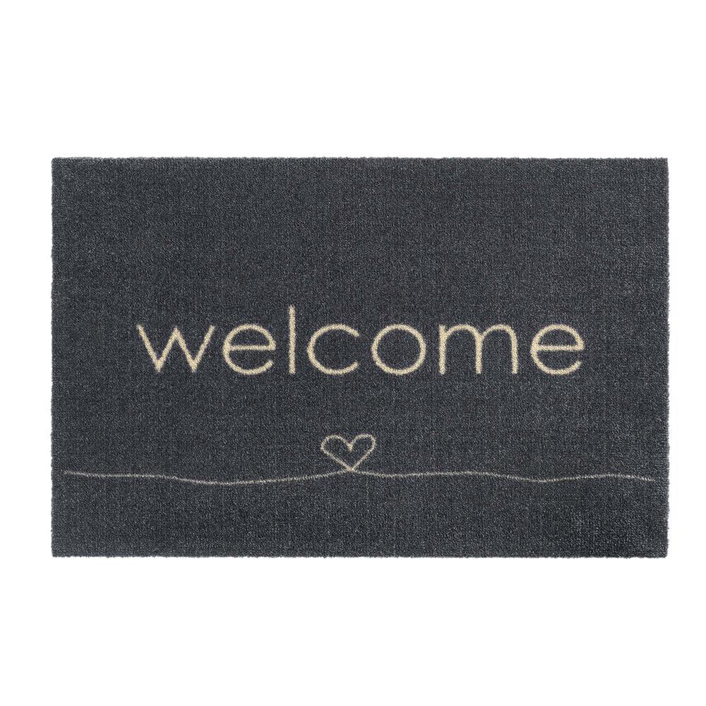 Chelsea Welcome Heart 50x75 Doormats Polhill Garden Centre