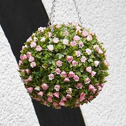 30cm Pink Rose Ball