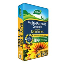 Multi Purpose Compost With John Innes (Enriched With Bio3) 60L