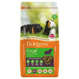 Burgess Excel Adult Guinea Pig Nuggets with Mint 2kg