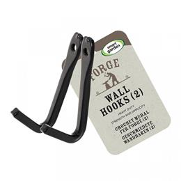 Forge Wall Hooks, 2 Pack