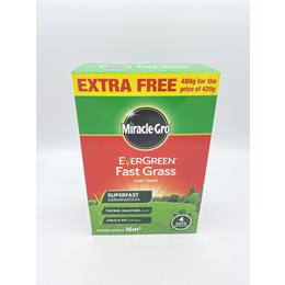 Miracle-Gro Evergreen fast grass lawn seed 16m2 480g