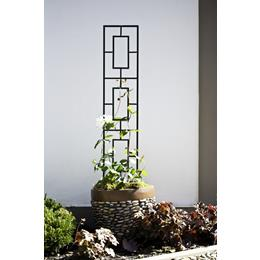 Contemporary Pot Trellis - Black