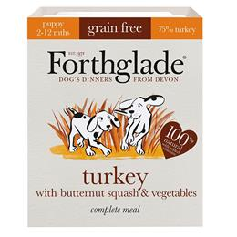 Forthglade Puppy Food Turkey, Butternut Squash & Veg 395g