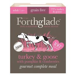 Forthglade Gourmet Turkey & Goose with Pumpkin & Cranberry Wet Dog Food