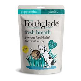 Forthglade Fresh Breath Grain Free Hand Baked Dog Treats With Turkey 150g
