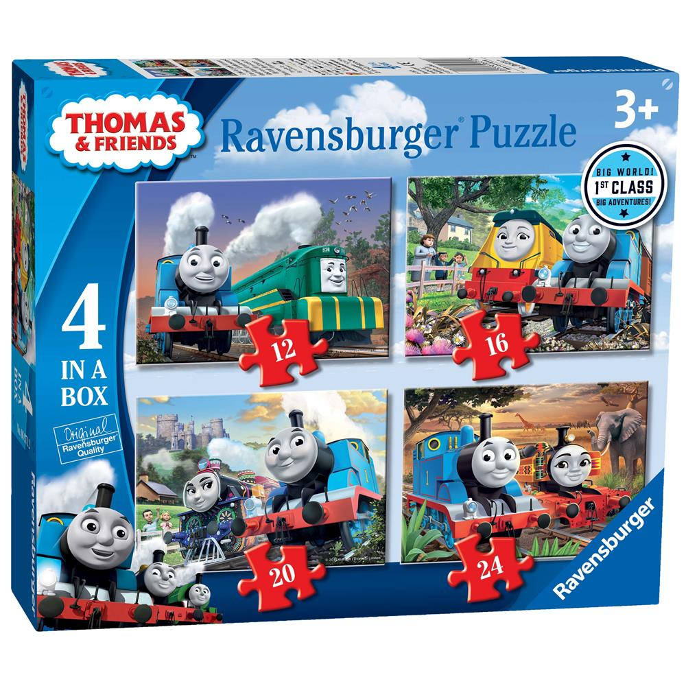 Thomas & Friends Big World Adventures 4 in a Box