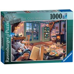 My Haven No 6, The Cosy Shed 1000pc