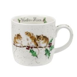 WRENDALE WINTER MICE MUG