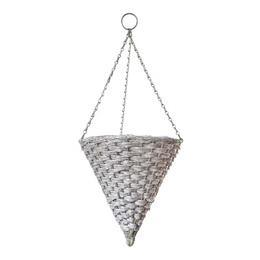 35cm (14'')  Mountain Grass Effect Hanging Cone