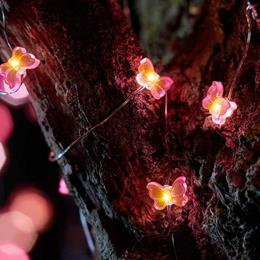 30 Butterfly Firefly String Lights