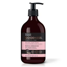 Rose & Geranium Hand Wash