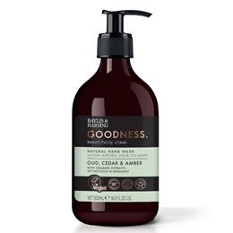 Oud, Cedar & Amber Natural Hand wash