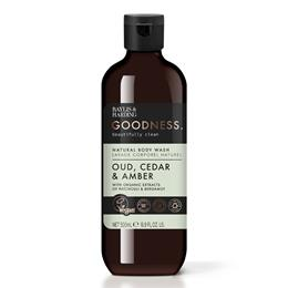 Oud, Cedar & Amber Natural Body wash