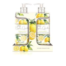 Baylis & Harding Royale Garden Lemon & Basil 2 Bottle Set
