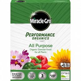 MIRACLE-GRO PERFORMANCE ORGANICS ALL PURPOSE 2KG