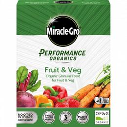 MIRACLE-GRO PERFORMANCE ORGANICS FRUIT AND VEG 1KG